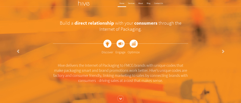Hive online's website